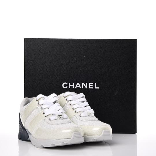 Chanel Blue/silver Athletic