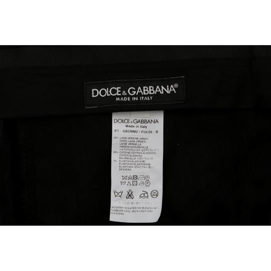 Dolce&Gabbana Black D60765-2 Wool Cotton Dress Pants (It 46 / S) Groomsman Gift