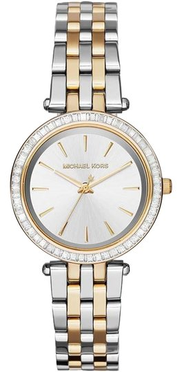 Preload https://img-static.tradesy.com/item/24189264/michael-kors-gold-silver-and-women-s-mk3405-watch-0-1-540-540.jpg
