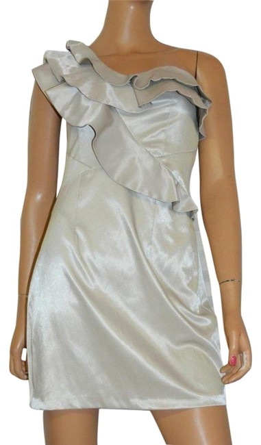 Preload https://img-static.tradesy.com/item/24189342/river-island-taupe-one-shoulder-ruffle-sheen-short-cocktail-dress-size-6-s-0-1-650-650.jpg
