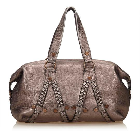 Preload https://img-static.tradesy.com/item/24189372/mulberry-metallic-handbag-silver-leather-x-others-baguette-0-0-540-540.jpg