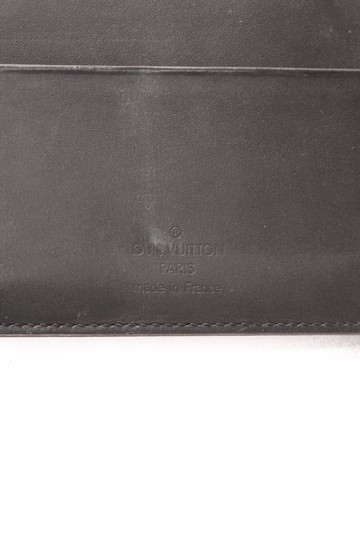 Louis Vuitton Louis Vuitton Medium Agenda - Black Monogram Mat
