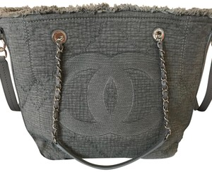 Chanel Tote in gray