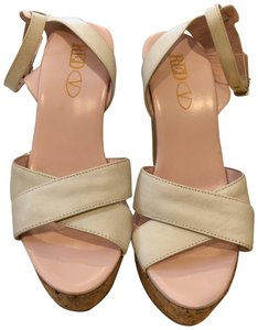 RED Valentino white Wedges