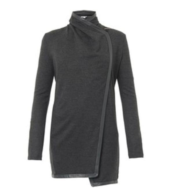 Preload https://img-static.tradesy.com/item/24189477/helmut-lang-gray-sonar-wool-toggle-leather-cardigan-size-4-s-0-0-650-650.jpg