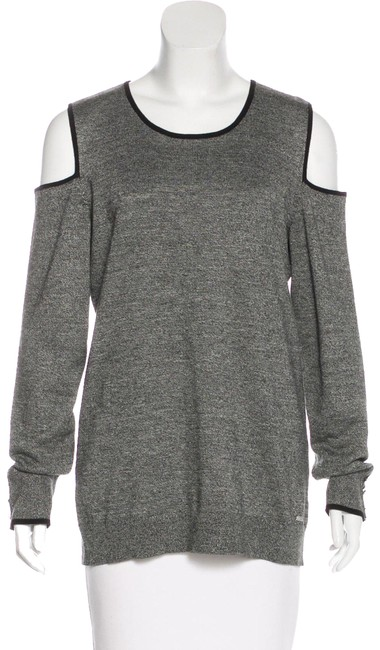 Preload https://img-static.tradesy.com/item/24189485/calvin-klein-cutout-accented-crew-neck-size-m-gray-sweater-0-1-650-650.jpg