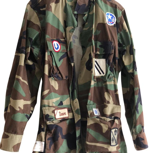 Icons Military Camo Patch Jacket Military Jacket