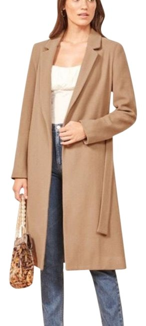 Preload https://img-static.tradesy.com/item/24189559/reformation-caramel-barton-fall-collection-2018-coat-size-0-xs-0-1-650-650.jpg