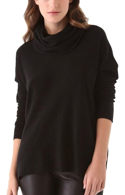 Preload https://img-static.tradesy.com/item/24189567/cowl-neck-black-sweater-0-1-650-650.jpg