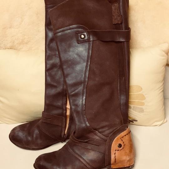 Kelsi Dagger Brown and tan Boots