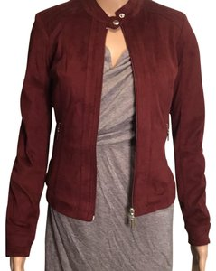 American Rag Burgundy Leather Jacket
