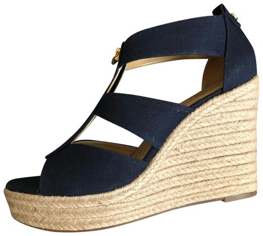 Preload https://img-static.tradesy.com/item/24189605/michael-michael-kors-blue-sandals-wedges-size-us-8-regular-m-b-0-1-540-540.jpg