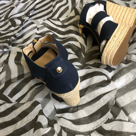 MICHAEL Michael Kors Blue Wedges