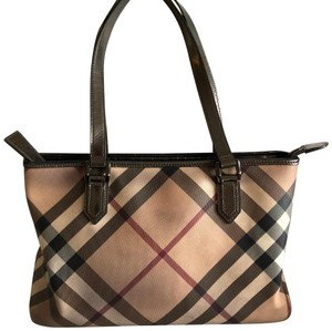 9ad80c4b03 Burberry Nova Check Totes - Up to 70% off at Tradesy