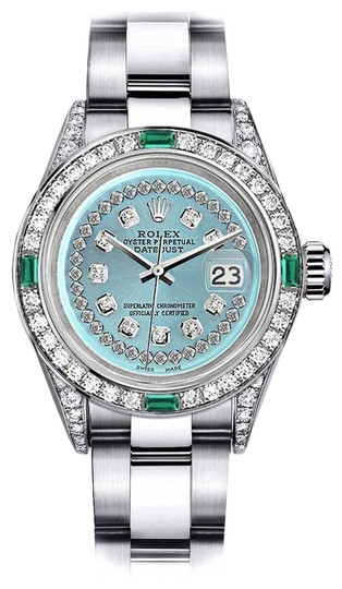 Preload https://img-static.tradesy.com/item/24189647/rolex-stainless-steel-turquoise-string-31mm-datejust-diamond-lugs-and-emerald-watch-0-1-540-540.jpg