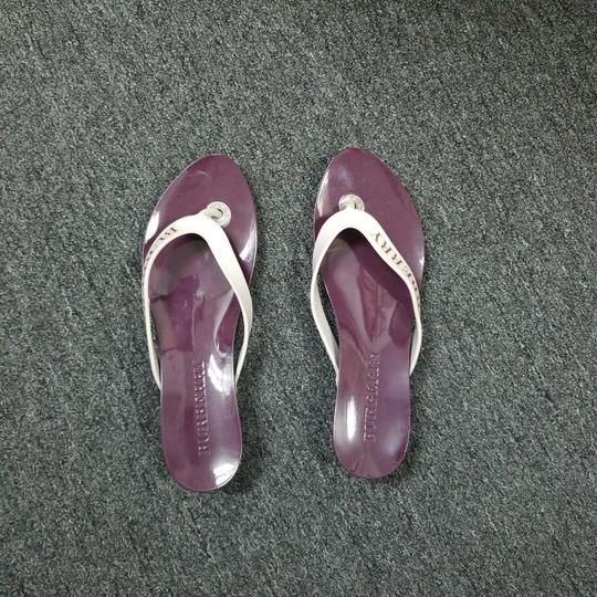 Burberry Purple Sandals