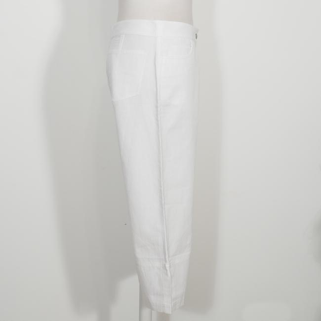 Eileen Fisher Capri/Cropped Pants White