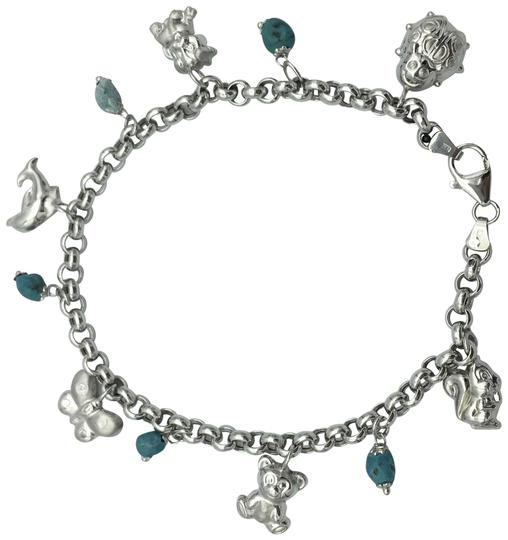 Preload https://img-static.tradesy.com/item/24189677/white-gold-and-turquoise-charmed-anklet-0-1-540-540.jpg