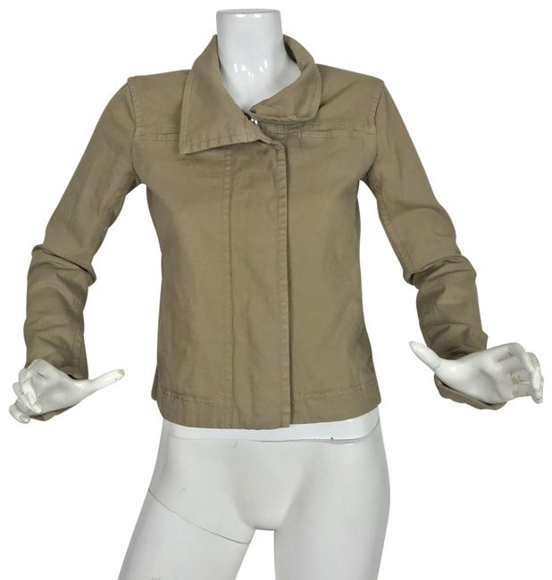Preload https://img-static.tradesy.com/item/24189687/james-perse-beige-standard-jacket-cottoncasual-career-women-blazer-size-2-xs-0-1-650-650.jpg