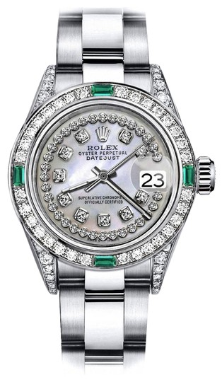 Preload https://img-static.tradesy.com/item/24189699/rolex-stainless-steel-white-pearl-string-31mm-datejust-ss-diamond-lugs-and-emerald-watch-0-1-540-540.jpg