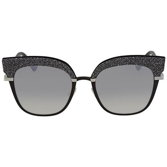Preload https://img-static.tradesy.com/item/24189700/jimmy-choo-silver-tone-black-grey-cat-eye-ladies-sunglasses-0-0-540-540.jpg