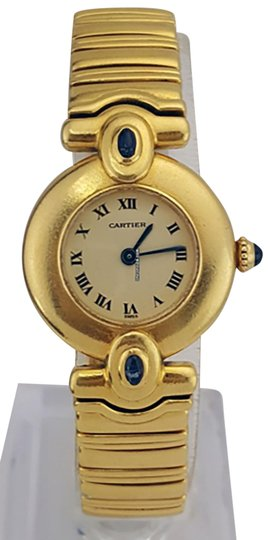 Preload https://img-static.tradesy.com/item/24189705/cartier-yellow-gold-limited-edition-18k-ladies-2b4ya4-watch-0-1-540-540.jpg