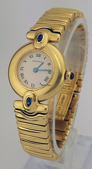 Cartier Cartier LIMITED EDITION 18K Yellow Gold Ladies Watch 2b4ya4