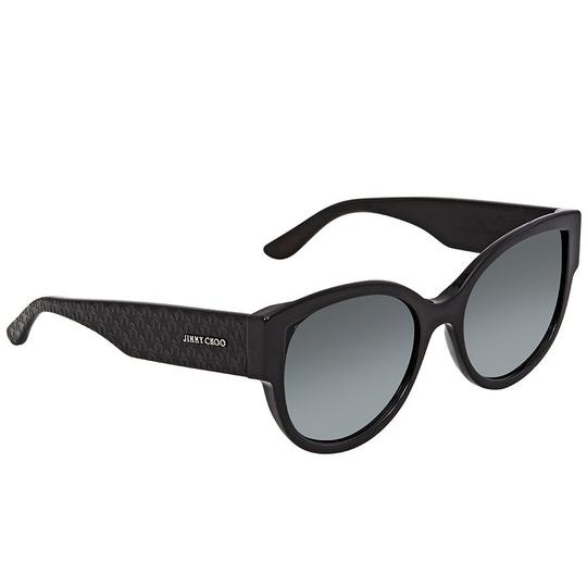 Preload https://img-static.tradesy.com/item/24189715/jimmy-choo-black-dark-grey-gradient-round-unisex-sunglasses-0-0-540-540.jpg