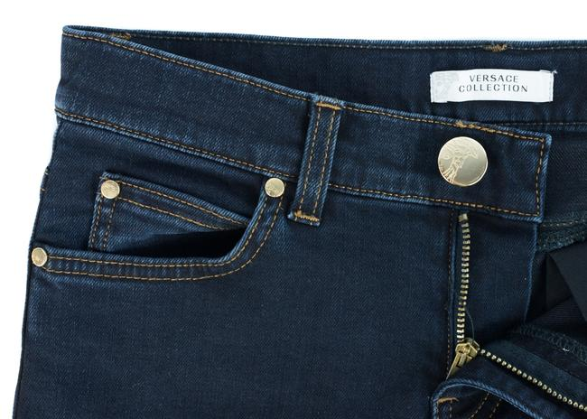 Versace Jeans Collection Skinny Jeans-Dark Rinse