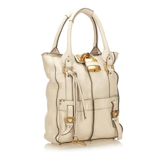 Chloé 8iclto003 Tote in White