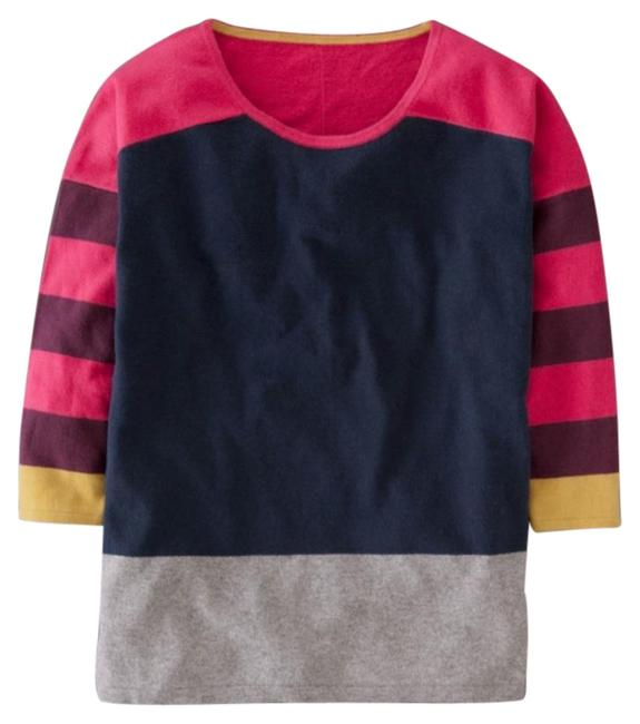 Preload https://img-static.tradesy.com/item/24189747/boden-colorblock-grey-pink-yellow-blue-sweater-0-1-650-650.jpg