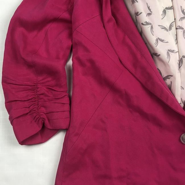Anthropologie Pink Blazer