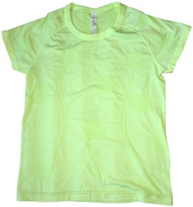 Lululemon Heathered Clear Mint Swiftly Tech Activewear Top