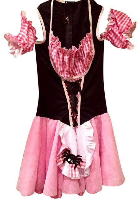 Preload https://img-static.tradesy.com/item/24189829/leg-avenue-pink-white-and-black-little-miss-muffett-halloween-costume-short-casual-dress-size-4-s-0-1-650-650.jpg