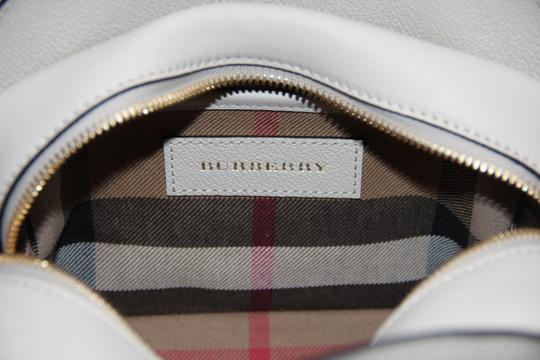 Burberry Leather Buckle Ivory Cross Body Bag