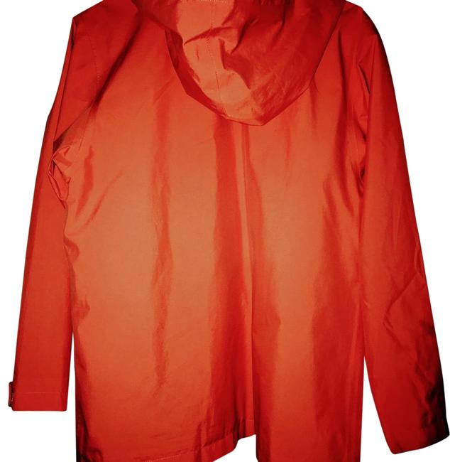 Item - Coral (Gortex)coral Hooded Rain Or Sports Activewear Size 10 (M)