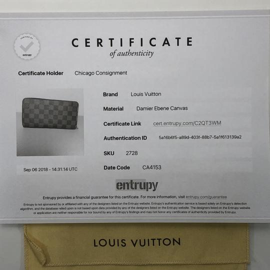 Louis Vuitton Louis Vuitton Damier Ebene Zippy Wallet
