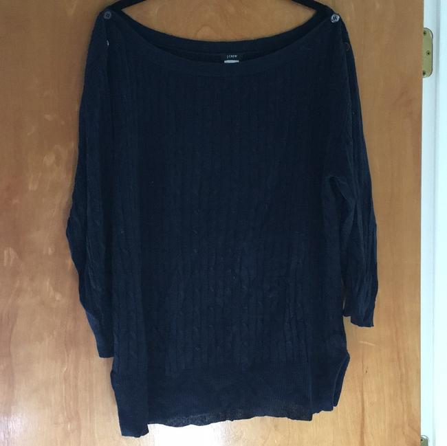 J.Crew Linen Cable Sweater