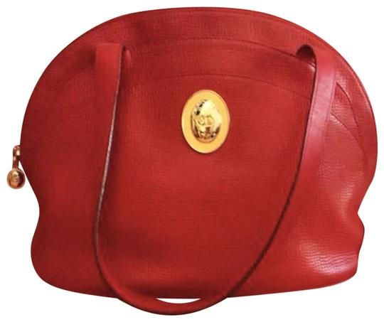 Preload https://img-static.tradesy.com/item/24189947/dior-christian-vintage-red-leather-shoulder-bag-0-1-540-540.jpg