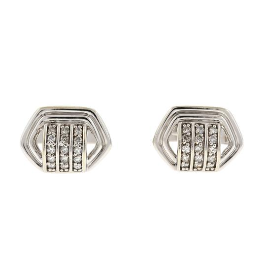 Preload https://img-static.tradesy.com/item/24189958/14k-white-gold-cufflink-with-three-tiny-rows-of-diamonds-60-cts-tw-0-0-540-540.jpg