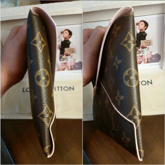 Louis Vuitton Envelope Accessory Fall Monogram Rose Ballerine Clutch