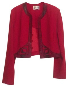 Julian Taylor red Blazer