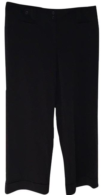 Item - Black Signature Fit Fully Lined Trouser Hemmed Pants Size 18 (XL, Plus 0x)