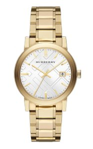Burberry Burberry The City 38mm Round Steel Gold BU9003 Swiss Made Watch