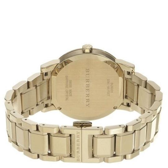Burberry Burberry The City 38mm Round Steel Gold BU9003 Swiss Made Watch Image 1