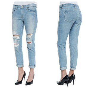 FRAME Boyfriend Cut Jeans-Distressed