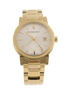 Burberry Burberry Gold Plated Swiss Made Watch