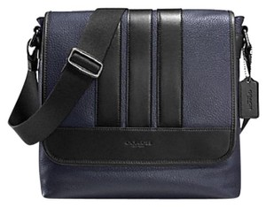 eae15b67ead0 Coach Men s Crossbody Limited Men Strips Men Crossbody Navy Messenger Bag