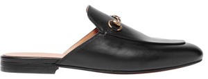 Gucci Mule Leather black Flats