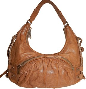 Botkier Leather Hobo Drawstring Shoulder Bag